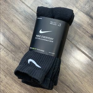 NIKE EVERYDAY COTTON CUSHIONED CREW men's SOCKS